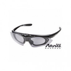 Atunas 歐都納 上掀式偏光太陽眼鏡 霧黑 B64016