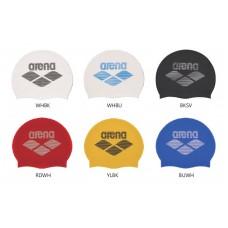 Arena 矽膠泳帽(條紋LOGO) FAR2902E
