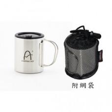 Camping Ace 野樂小鋼炮斷熱杯 隔熱杯 不銹鋼杯 咖啡杯 330cc ARC-156-8L
