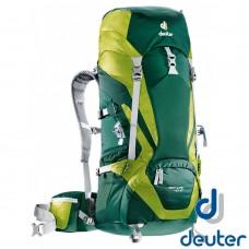 Deuter  德國 ACT Lite 拔熱透氣背包 40+10L 深綠 DT-3340115-DG