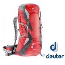 Deuter  德國 FUTURE PRO 網架直立式透氣背包-紅灰/藍灰 二色 DT-34294