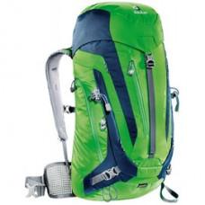 Deuter 德國 ACT Trail 拔熱透氣背包30L 綠灰DT-3440315
