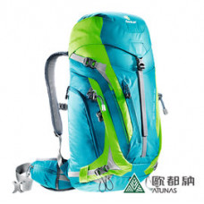 Deuter  德國 ACT Trail PRO拔熱透氣背包34L 藍綠 DT-3441115-BL