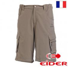 Eider 男 休閒短褲 深卡其/咖啡 EIT1281