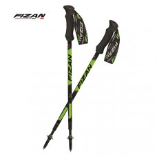 FIZAN 義大利 超輕三節式健行登山杖2入特惠組 三色 FZS18.71