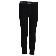 Icebreaker 頂極美麗諾羊毛 兒童 Oasis 保暖貼身長褲(BF200) 黑 IB104503-001