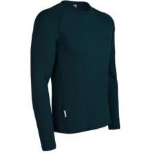 Icebreaker 頂極美麗諾羊毛 男經典圓領保暖長袖上衣(BF260)-深綠 IBF164-G83