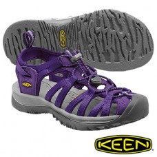 Keen Whisper 女細帶涼鞋-紫/灰 1012232