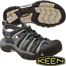 Keen NewPort H2 男寬帶涼鞋-深藍/淺灰 1014187