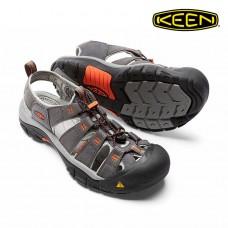 Keen NewPort H2 男寬帶涼鞋-深灰/橘色 1016287