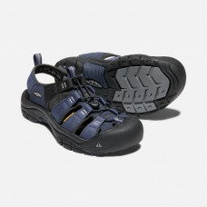 Keen NewPort H2 男寬帶涼鞋-深藍/黑 1018940