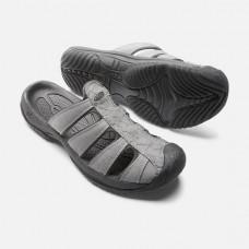 Keen Aruba II 男包指拖鞋-灰 1016793