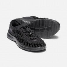 Keen UneekO2 女 彈性編織涼鞋-黑 1018723