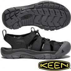 Keen NewPort ECO 男寬帶涼鞋-黑 1018803