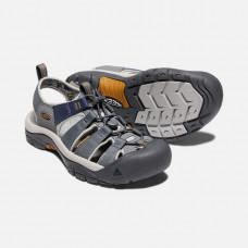 Keen NewPort H2 男寬帶涼鞋-鐵灰/灰藍 1018816