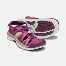 Keen Venice II H2 女叉帶涼鞋-紫紅/酒紅 1018850