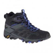 Merrell Moab FST2 女 GT中筒健行鞋-黑/紫 ML77478