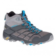 Merrell Moab FST2 男 GT中筒健行鞋-灰/藍 ML77491
