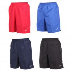 MIZUNO 美津濃 基本路跑褲(中19.5cm) 黑/紅/丈青/寶藍 J2TB8A02