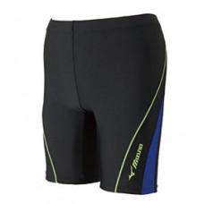 MIZUNO 美津濃 Fitness 泳褲(股下21cm) 黑/藍 N2JB810292