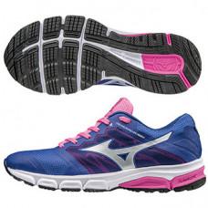 MIZUNO 美津濃 Synchro MD2 女慢跑鞋-桃/紫藍 J1GF171803