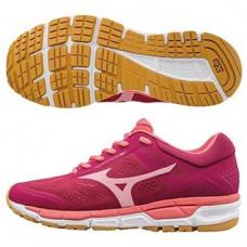 MIZUNO 美津濃 Synchro MX2 女慢跑鞋-紫紅/粉橘 J1GF171967