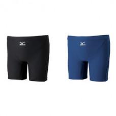 MIZUNO 美津濃 基本款 BASIC男四角泳褲-黑 85UA-30009 85UA-30014-藍