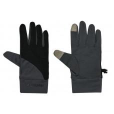 Mountneer 山林 中性抗UV觸控手套-黑/灰 11G01-01