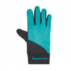 Mountneer 山林 中性抗UV觸控手套-湖水綠 11G01-70