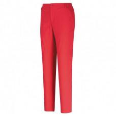 Mountneer 山林 女 彈性抗UV窄管九分褲-玫瑰紅/檸檬黃 21S10