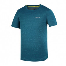 Mountneer 山林 男 雲彩排汗圓領上衣-土耳其藍 31P11-83