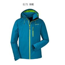 Schoffel zipin 系列 男 Alaric防水附帽外套(可套內裡)-海藍色 SL20-21022-81