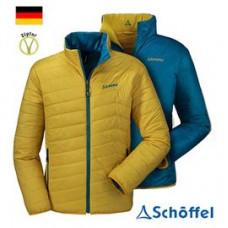 Schoffel zipin 系列 男 Tanner防風保暖雙面外套-芥黃/藍 5SL20-21289-6