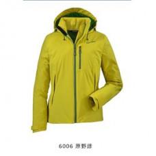 Schoffel zipin 系列  女 Afra防水連帽外套(可套內裡)- SL20-10930-60淺綠 / SL20-10930-31-桃紅