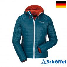 Schoffel 男 Skyler防風保暖連帽外套 藍 SL20-21029-88