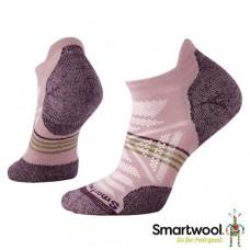 Smart Wool 美國 女 PhD戶外輕量減震踝襪-木玫粉 SW001306-580