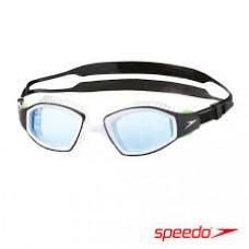 Speedo  成人進階開放水域泳鏡 Futura Biofuse Pro 黑/藍 SD8104392627