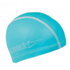 Speedo 兒童合成泳帽 Pace-水藍 SD8720736526D