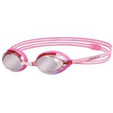 Speedo 兒童 競技型泳鏡 Vanquisher 2.0 Mirror 粉紅 SD8061760000B