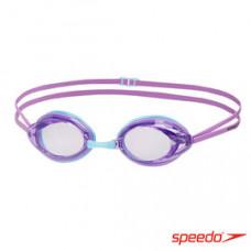 Speedo  成人 競技泳鏡 B577Opal-紫, 8163藍/灰 SD808337B577, SD8083378163
