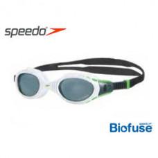 Speedo  進階泳鏡 FuturaBioFUSE 偏光 白/灰 SD808834A214