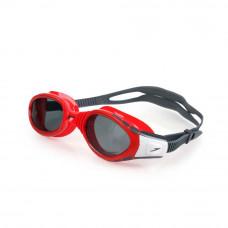 Speedo  進階泳鏡 FuturaBioFUSE 偏光 紅/灰 SD808834B572