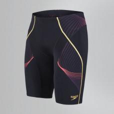 Speedo  男 運動及膝泳褲 Fit Pinnacle 黑/紅 SD810370B024
