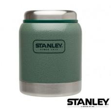 Stanley 冒險系列寛口保溫食物杯 0.4L-錘紋綠 1001610-006