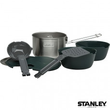 Stanley 冒險系列露營套鍋碗組 1.5L-不鏽鋼 1001715-003