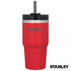 Stanley 冒險系列吸管隨手杯 0.59L-紅 1002662-031