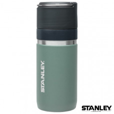 Stanley GO陶瓷烤漆真空保溫瓶 0.47L-軍灰 1003107-005