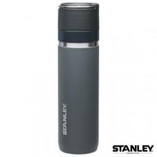 Stanley GO陶瓷烤漆真空保溫瓶 0.7L-灰黑 1003108-003