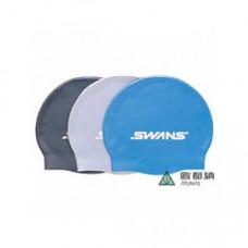 SWANS 矽膠泳帽 黑/紫二色 SA-7