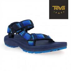 Teva J Hurricane2 大童運動涼鞋-藍灰 TV110375JPBBG